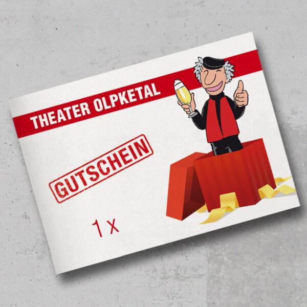 Theater Olpketal Gutschein 1xWE