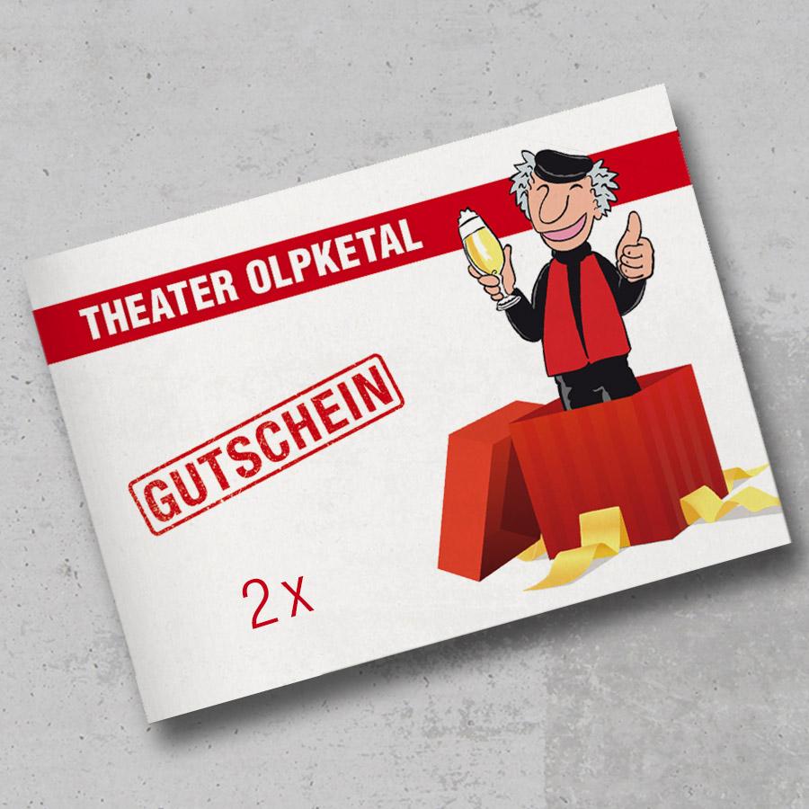 Theater Olpketal Gutschein 2xWE