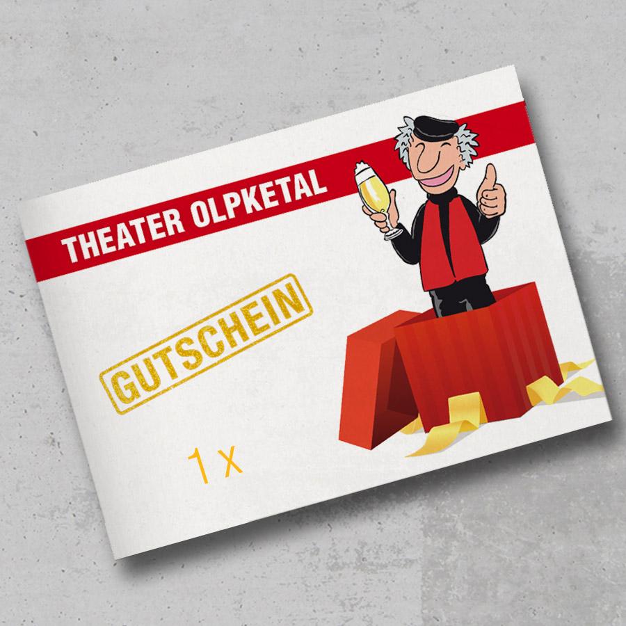 Theater Olpketal Gutschein 1xMODO